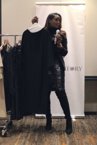 Celebrity Wardrobe Stylist Tameka Raymond Teaching Style Theory Attendees the Do's and Don'ts of Fashion and Wardrobe Must-Haves for Every Day