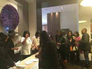 Style Theory Attendees Check-In And Prepare For A Day of Learning